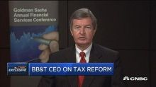 BB&T CEO: Tax bill isn't perfect for everybody but it's m...