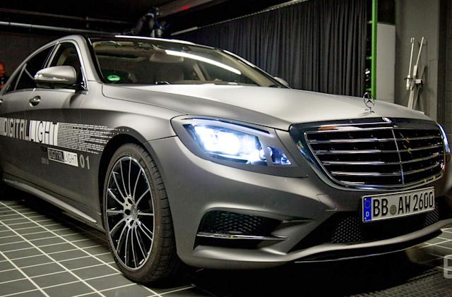 Mercedes is building smarter headlights for its cars of the future