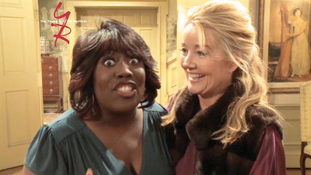 The Young and the Restless - The Talk's Sheryl Underwood Guest Stars