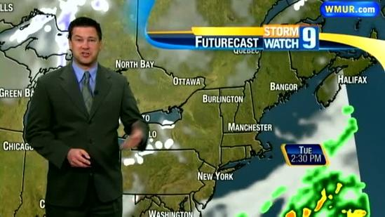 Dry weather expected for days in NH