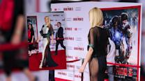 Gwyneth Paltrow Gets Cheeky in a See-Through Dress at Iron Man 3 Premiere