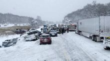 Cold spell causes chaos on Michigan highways