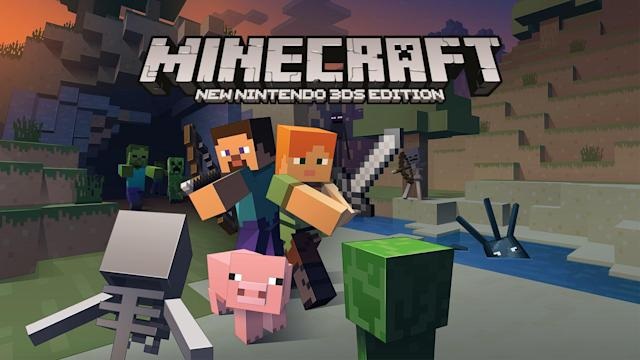 'Minecraft' is available on Nintendo handhelds right now