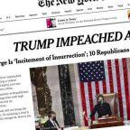An unprecedented impeachment