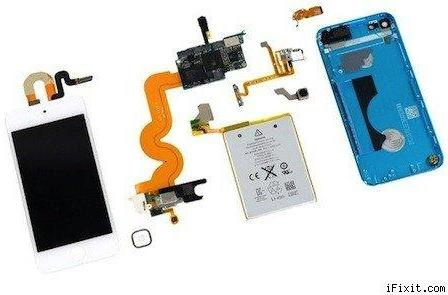 iFixit tears down the 5th-generation iPod touch