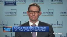 The Russell 2000's strength indicates the US economy's he...