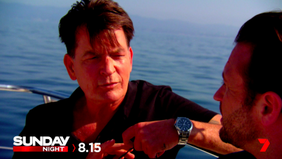 THIS WEEK ON SUNDAY NIGHT: Charlie Sheen
