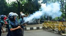 Bangladesh removes 'un-Islamic' statue after protests