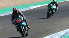 """Andalusia MotoGP: Quartararo """"not worried"""" about Yamaha engine issues"""