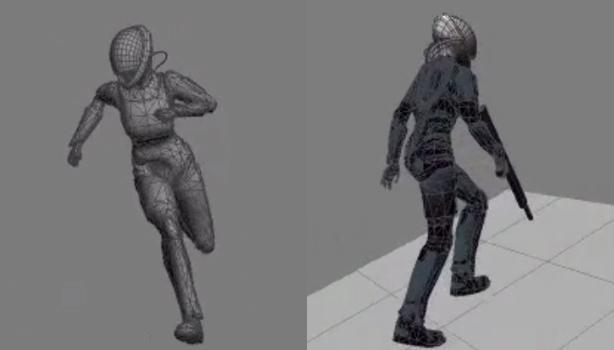 See Commander Shepard's first steps