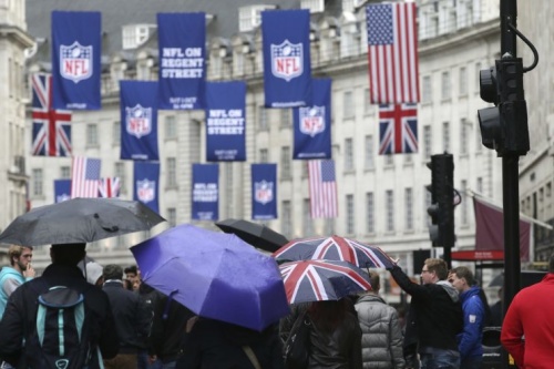 The NFL has made its presence felt in London. (AP)