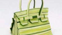Hermès sorprende con unas fotos de bolsos hechos únicamente con vegetales
