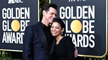 New couple alert! Jim Carrey and Ginger Gonzaga look loved up at Golden Globes
