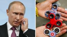 Opposition activists in Russia are 'using fidget spinners' in an plot to overthrow Vladimir Putin