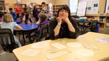 Biting into tradition: Elementary school students learn Cree art of birch bark biting