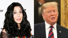 Cher says 'no one is really safe' in Trump's America unless you're white