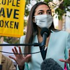 Alexandria Ocasio-Cortez rips Andrew Yang for his 'chest-thumping' Israel statement and mocks his rejection from a Ramadan event