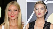 Gwyneth Paltrow y Kate Hudson revelan con quién tuvieron sus peores besos de cine