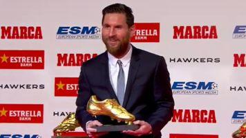 FC Barcelona: Lionel Messi gewinnt zum sechsten Mal den Goldenen Schuh