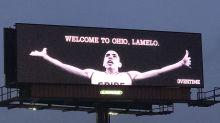 LaMelo Ball gets LeBron billboard treatment in move to Ohio