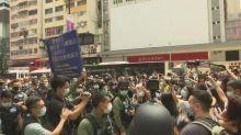 Arrestos en Hong Kong durante protesta