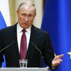 Putin says mysterious explosion posed no radiation threat