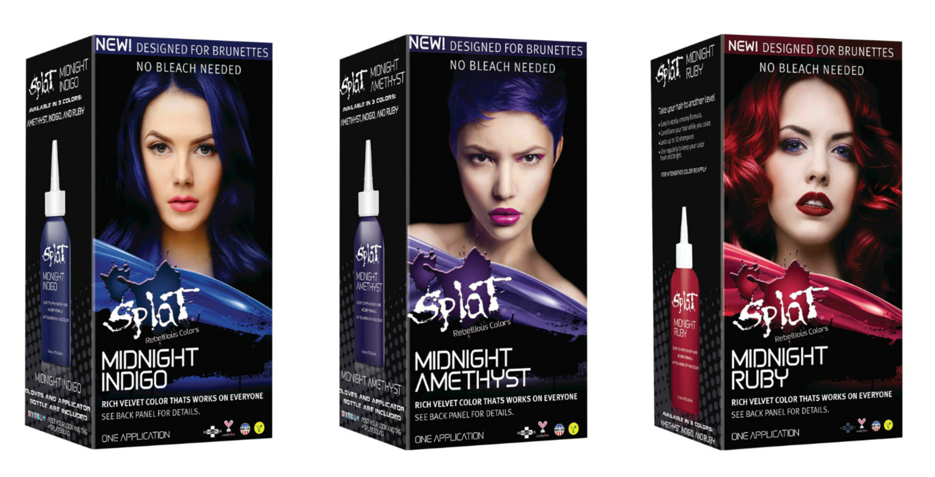 Splat Midnight Gives You Crazy Hair Colors Of Your Dreams Without