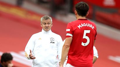 Ole Gunnar Solskjaer 'positive' about Harry Maguire being fit for EL final