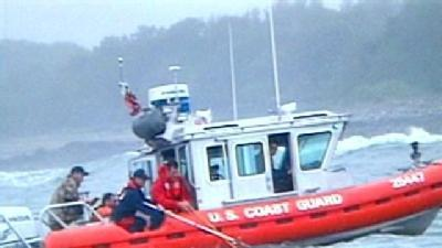 Coast Guard Rescues 3 Fishermen Off NH Coast