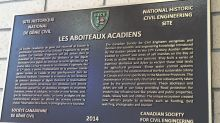 328-year-old Acadian aboiteau now on display in Moncton