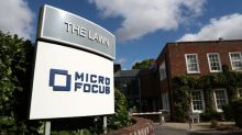Shares in Micro Focus halve after sales warning and CEO departure