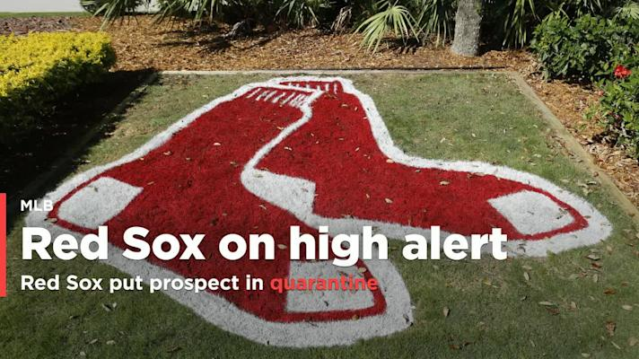 Red Sox put prospect in quarantine