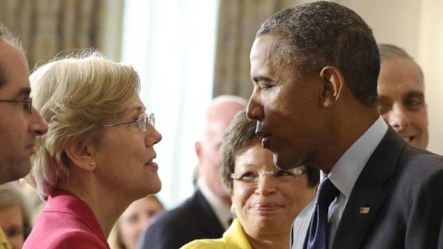 'You Make Them Nervous': Why Obama Told Elizabeth Warren she Wouldn't Lead Consumer Watchdog Agency