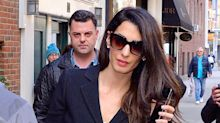 Amal Clooney Has the Hardest Working Hair in New York City