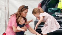 Duchess of Cambridge shared a cute story about Prince Louis during public outing