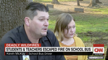 'Bus driver from heaven' saves children and teachers from California wildfire: 'I thought that we might not make it'