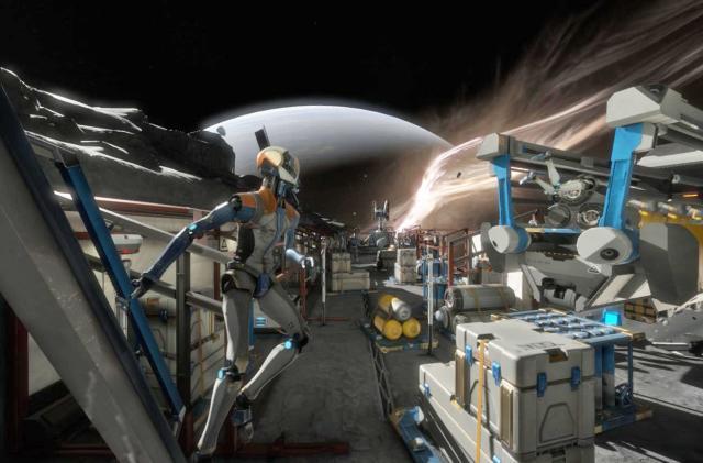 Walking in virtual reality is hard, so 'Lone Echo' got rid of it