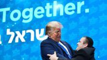 """Trump """"meilleur ami"""" d'Israël, dit-il aux juifs américains"""