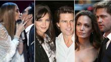 Las rupturas de la década que han hecho temblar a Hollywood