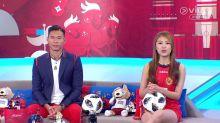 世界盃講波靚女張嘉殷 短裙仔騷腿好吸睛