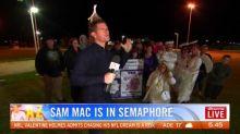 Sam Mac's weather at 5.30