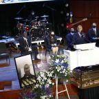 Several Vikings players attend George Floyd memorial service in Minneapolis