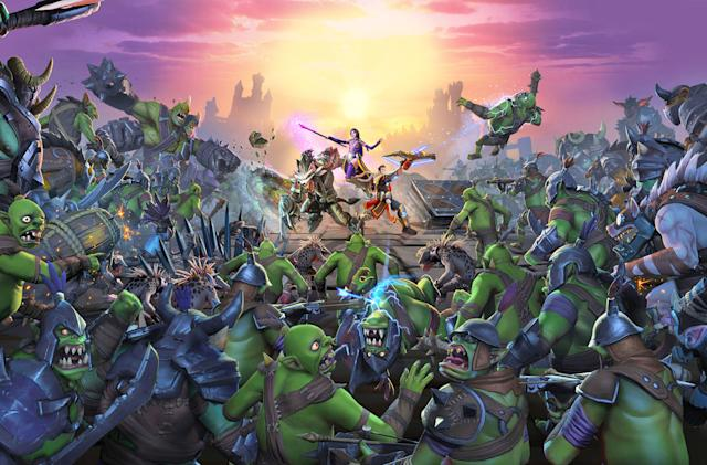 'Orcs Must Die! Unchained' arrives April 19 with competitive mode