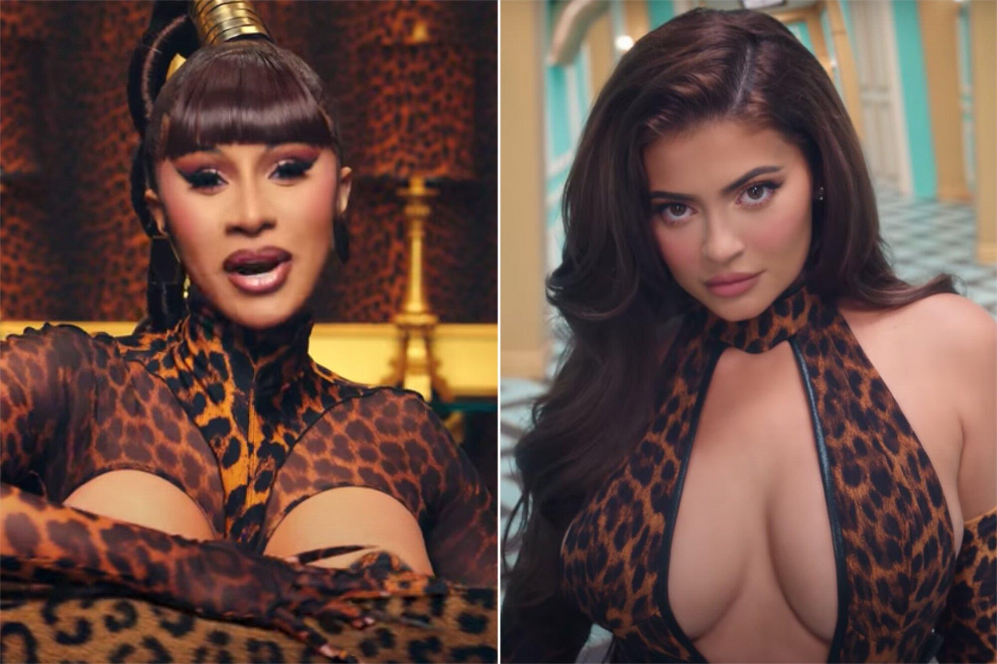 Cardi B Defends Kylie Jenner S Appearance In Wap Video After