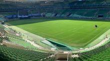 Palco montado e canto de torcida: Allianz volta a ter jogo do Palmeiras