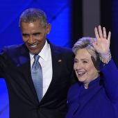 President Obama Embraces Hillary Clinton, Ravages Donald Trump at Democratic Convention