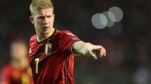 Foot - L. nations - BEL - Ligue des nations: Kevin De Bruyne (Belgique) forfait contre l'Islande