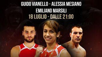 Lungo il Tevere Roma, Il galà di campioni di boxe