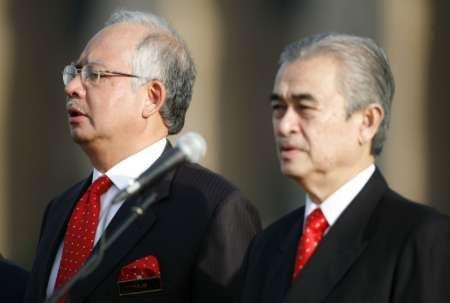 Image result for badawi and najib
