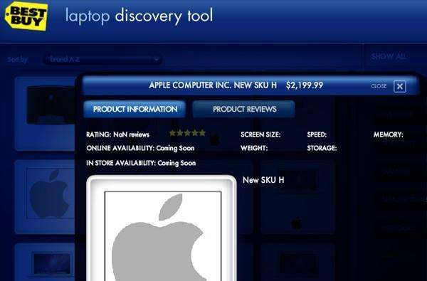 Best Buy adding new Apple laptop SKUs to its systems, foreshadows MacBook Pro refresh